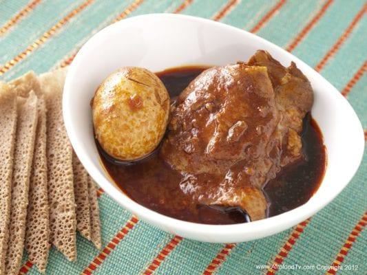Ethiopian Spicy Chicken