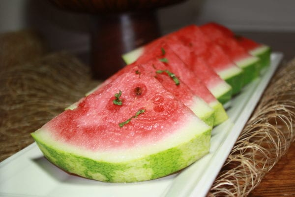 Moroccan RoseWater Watermelon