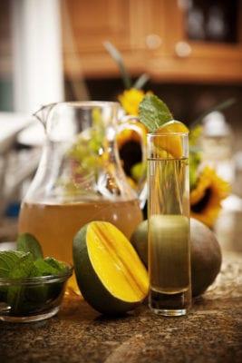 Mango Infused Green Tea